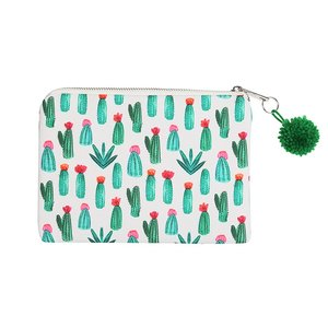 Make-up tasje / clutch cactus