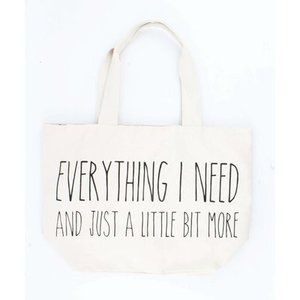 Grote shopper Everything I need