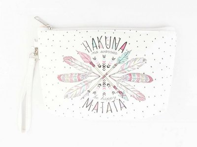 Make-up tas / clutch Hakuna Matata