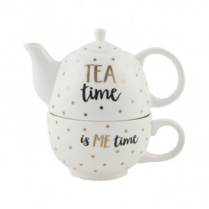 Tea for one -  TEA time is ME time