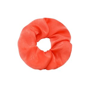 Scrunchie 'soft as satin' oranje